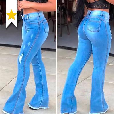Calça Jeans Flare | Liz Jeans