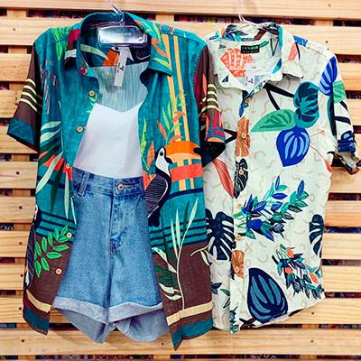 Camisa Floral Feminina   Byanca Diniz