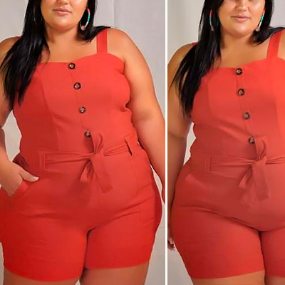 Macaquinho Plus Size | Lili Elegância Plus
