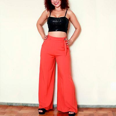 Pantalona de Viscose | Passarela da Moda