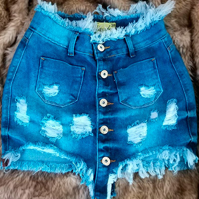Saia Jeans Feminina | Melhor do Jeans