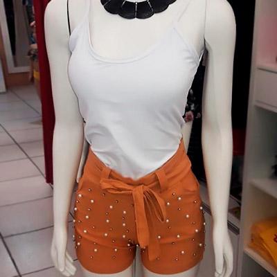 Short Cintura Alta | Dema Modas