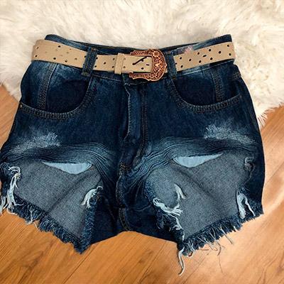 Short Jeans Feminino | JC Roupas