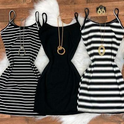 Vestido Canelado Feminino | Ilana Santana Store