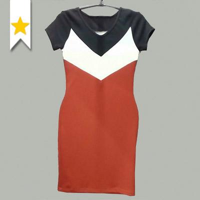 Vestido Canelado Feminino | Boas Novas