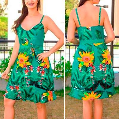 Vestido Floral Feminino | Fickchic