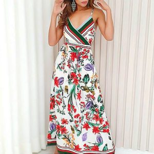 Vestido Longo Floral | Barcellos & Maia