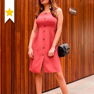 Vestido de Linho Feminino | Vianna Store