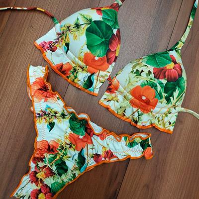Biquíni Modelo Floral | Tropical Moda Praia