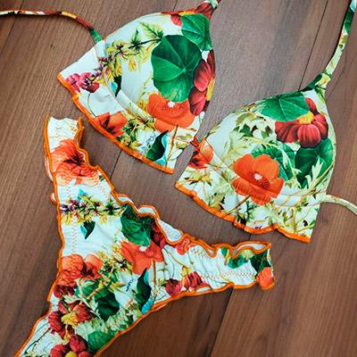 Biquíni Modelo Floral | Mar & Sol