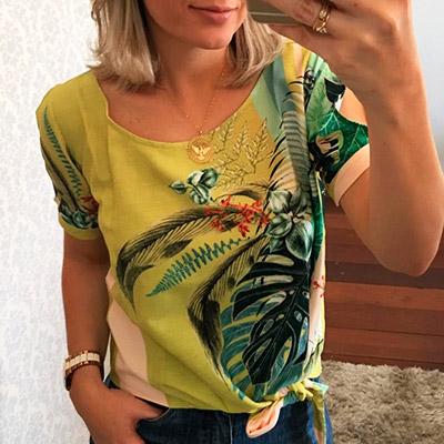 Blusa Tropical Feminina | Bia Boroni