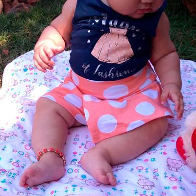 Conjunto Infantil Primavera | Raiz de Davi