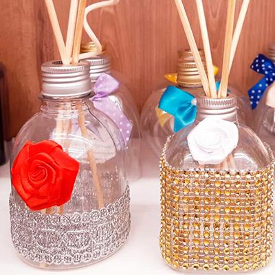 Frascos Decorados | Essence Saboaria e Perfumaria Artesanal