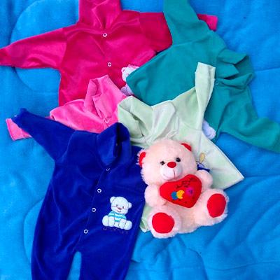 Macacão Plush Infantil | Raiz de Davi