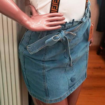 Saia Jeans Feminina   IC Closet Store