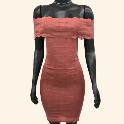 Vestido Bandagem Rose | Cah Boutique