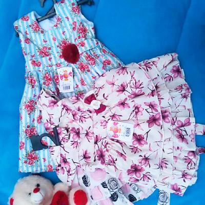 Vestido Floral Infantil | Raiz de Davi