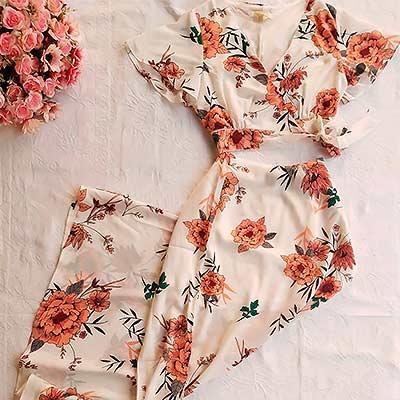 Conjunto Cropped e Saia | Beaga Clothes