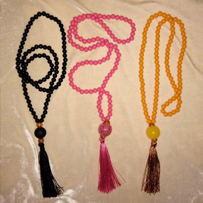 Cordão Japamala Sagrado   Art e Cor Artesanatos