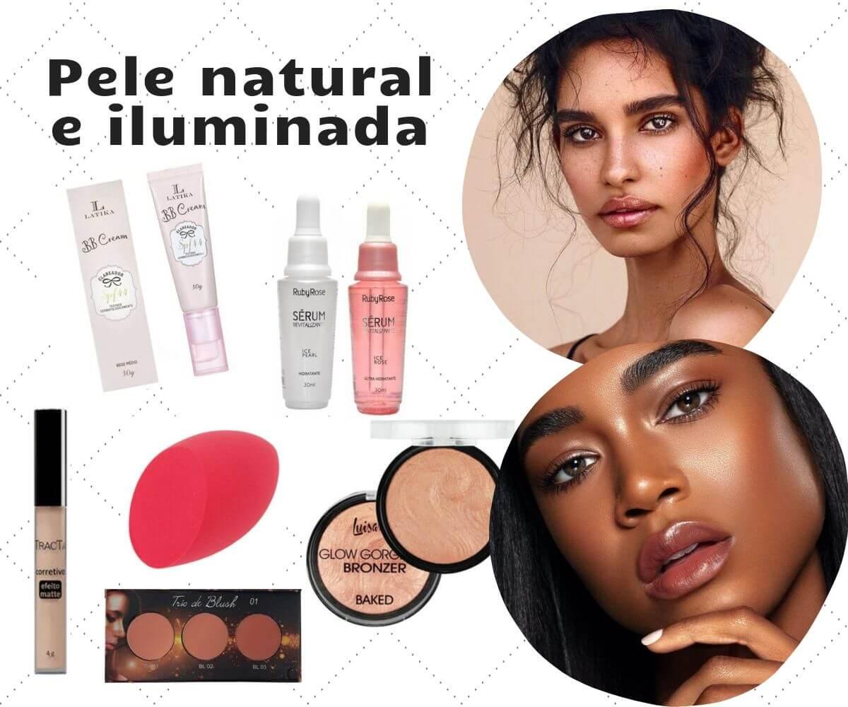 Como usar maquiagem primavera verão 2020 pele natural e iluminada