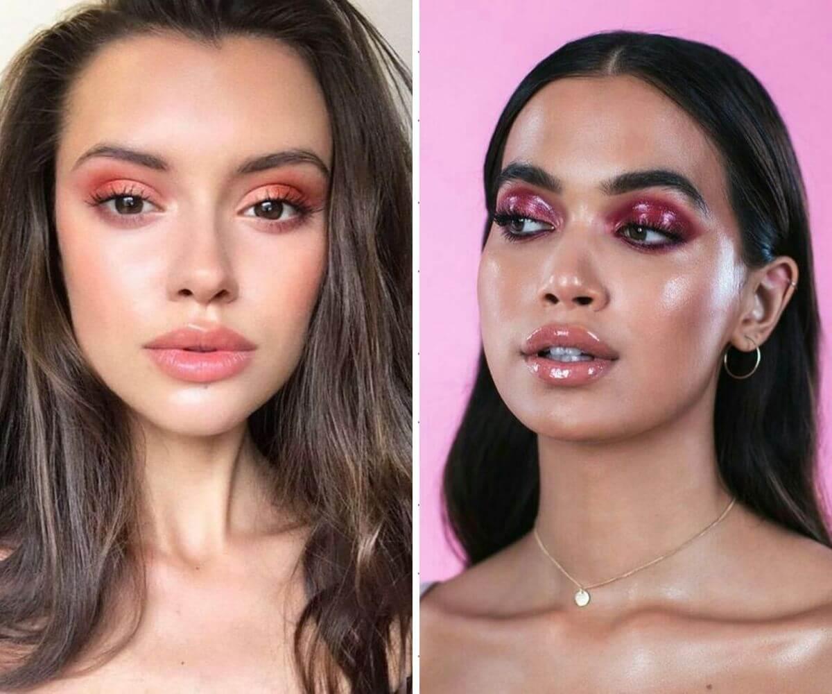 Como usar maquiagem primavera verão 2020 sombra glossy