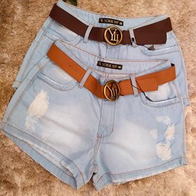 Short Jeans Claro   Niella Store