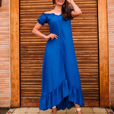 Vestido Ciganinha Midi | Ateliê da Larisse