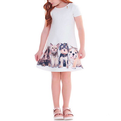 Vestido Infantil Feminino | Fino Afeto Moda Infantil