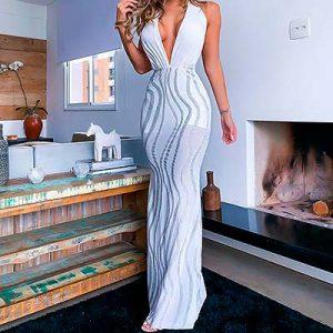 Vestido Longo Decotado | Luxus – Eldorado