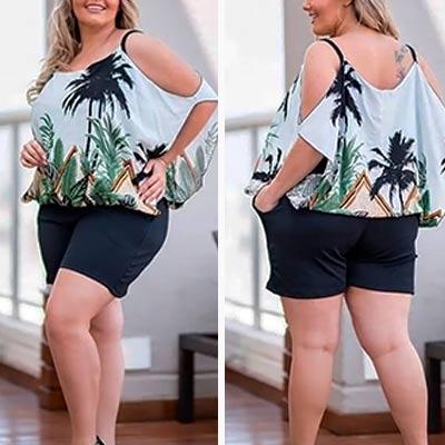Conjunto Plus Size | Doralina Moda Maior Eldorado