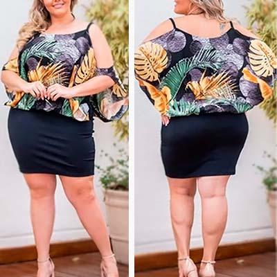 Conjunto Plus Size | Doralina Moda Maior Betim