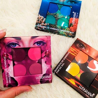 Paleta de Sombras Ludurana | Miss Makeup
