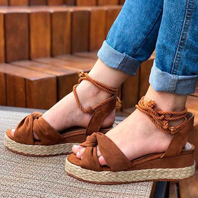 Sandália Flatform | Namitala Calçados