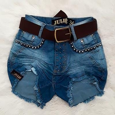 Short Jeans Spikes | Melhor do Jeans