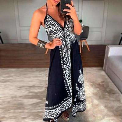 Vestido Longo Estampado | Enkanto
