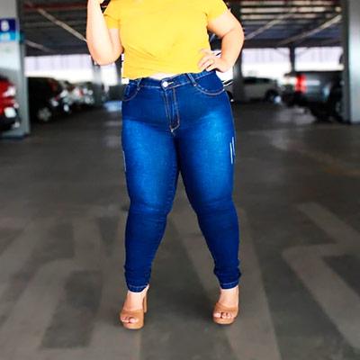 Calça Plus Size | Liz Jeans