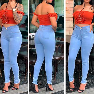 Calça Jeans Skinning | Liz Jeans