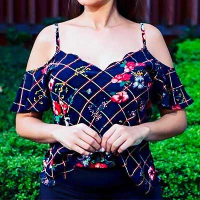 Blusa Feminina Ciganinha | Rainha da Moda