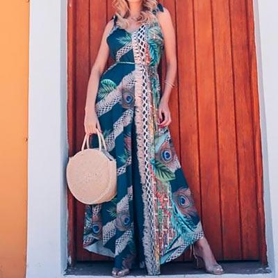Macacão Longo Rayoul | Moda Cherye