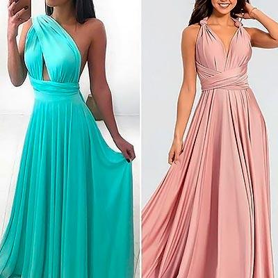 Vestido Longo Multiformas | Stylo Girls