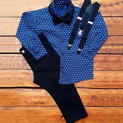 Camisa Social Infantil | Luxos da Lara