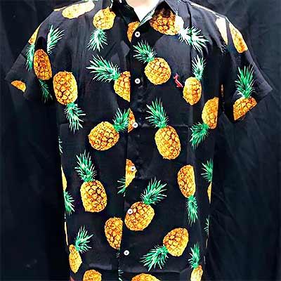 Camisa Masculina Abacaxi | Ana Costureira