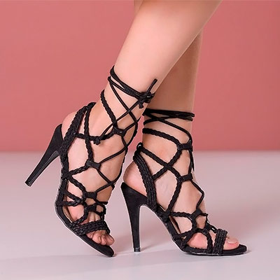 Sandália Salto Fino | Namitala Calçados