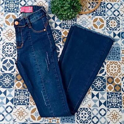 Calça Jeans Flaire | Fafá Modas