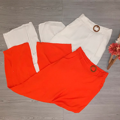 Calça Feminina Pantalona | Byanca Modas