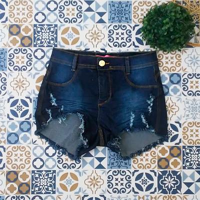 Short Jeans Feminino | R&C Moda Fashion
