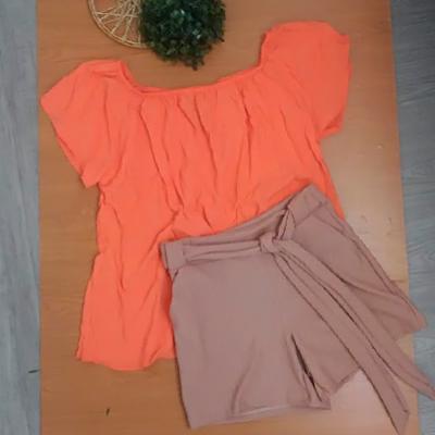 Blusa Ciganinha Coral | B Look