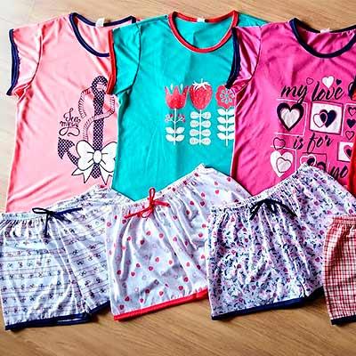 Conjunto Pijama Estampado | Ki Charme Lingerie