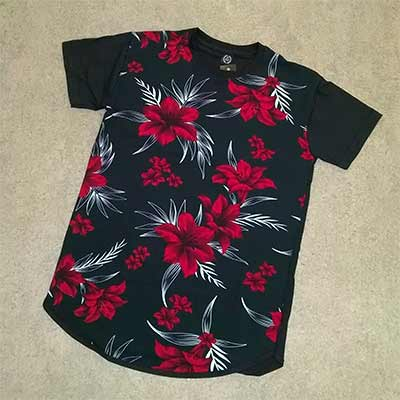 Camisa Estampada Malha | Ana Costureira