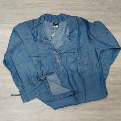Camisa Jeans Feminina | Victoria Fashion
